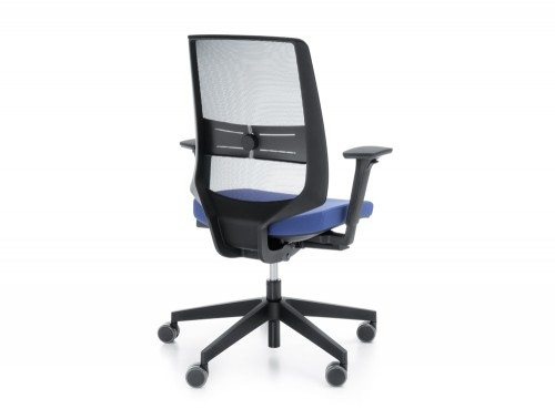 Profim LightUp Ergonomic Armchair in Mesh Back Angle