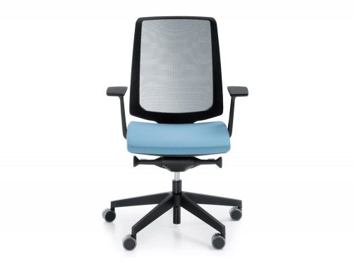 Profim LightUp Ergonomic Armchair in Mesh Front Angle