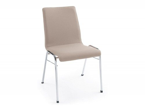 Profim Ligo Plywood Conference Chair Chrome Legs