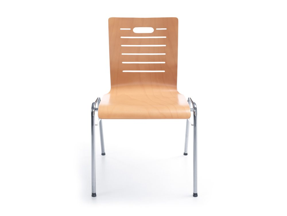 Profim Ligo Plywood Conference Chair Front Angle