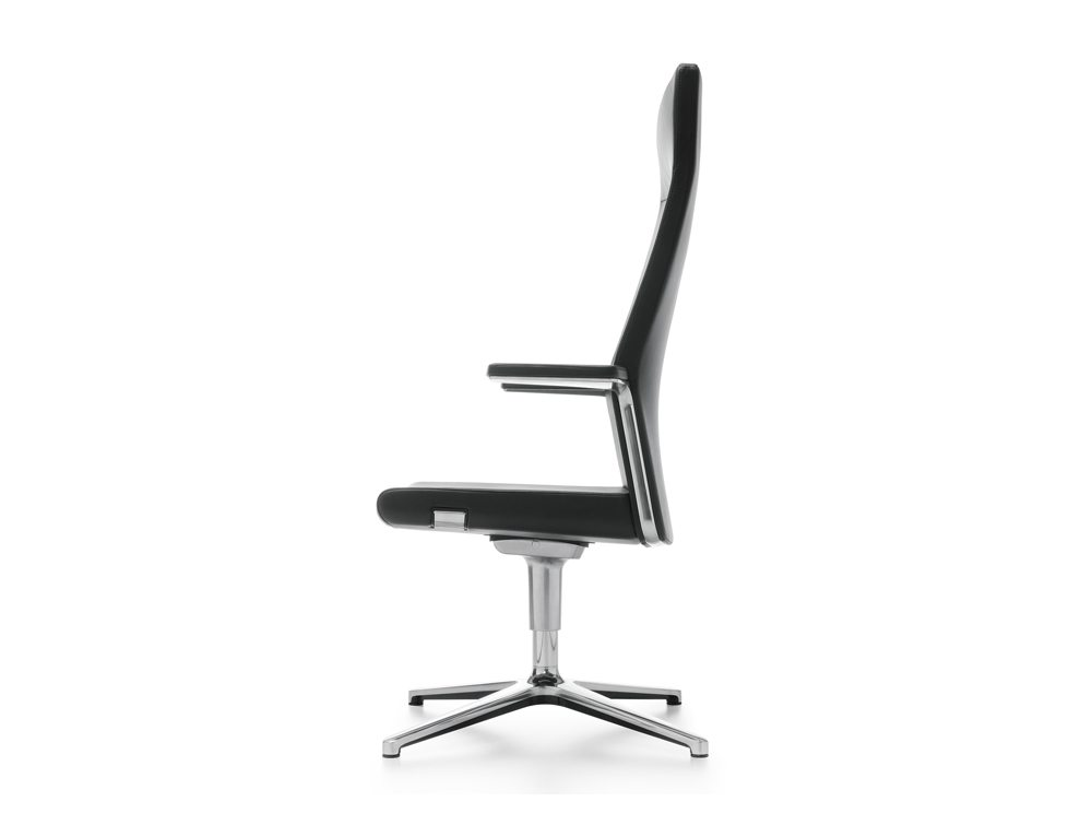 Profim MyTurn Executive Boardroom Chair High Back Side Angle
