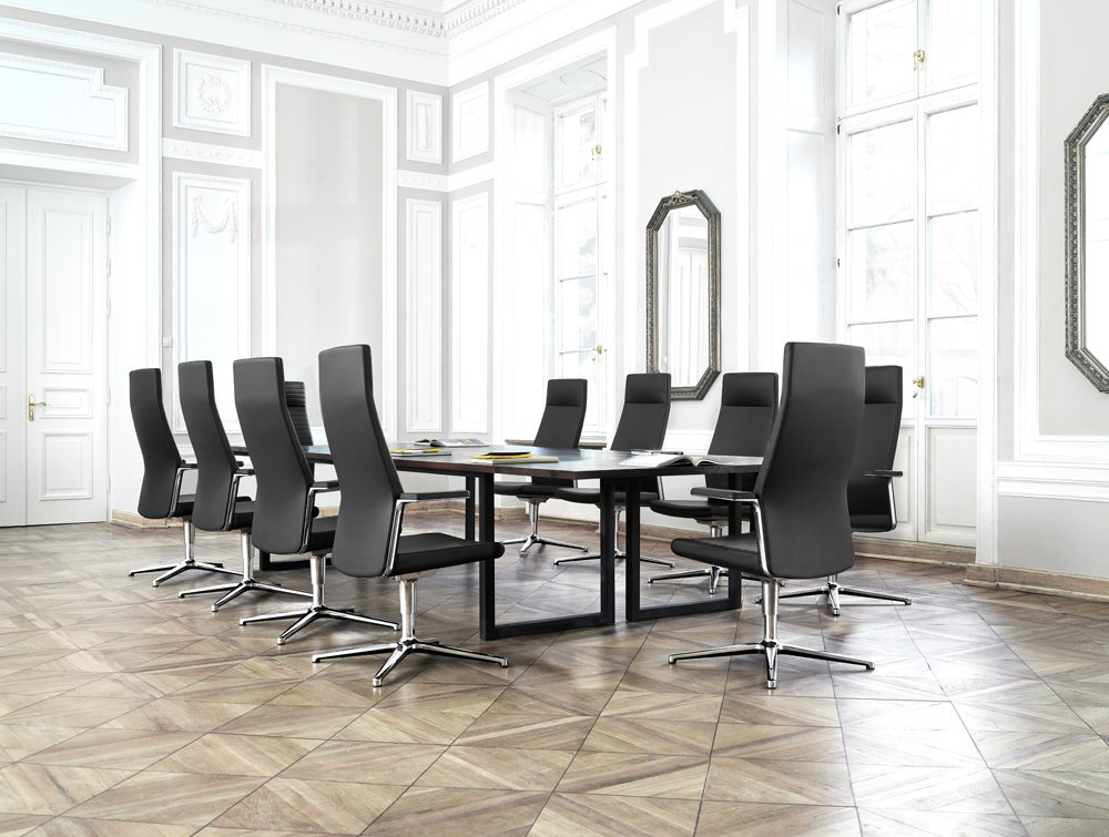 Profim MyTurn Executive Boardroom Chair High Back