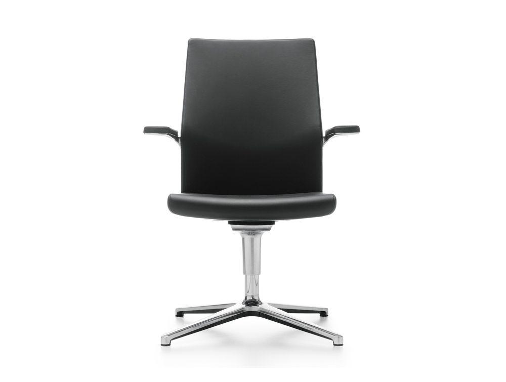 Profim MyTurn Executive Boardroom Chair Medium Back Front Angle