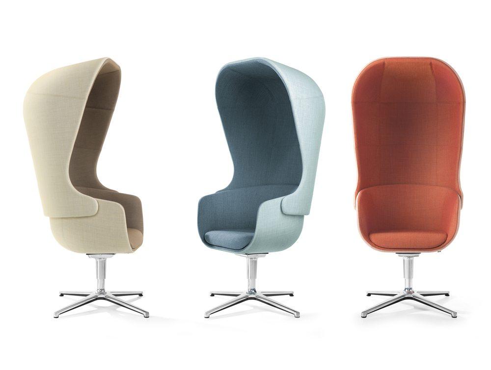 Profim Nu Armchair in different colours