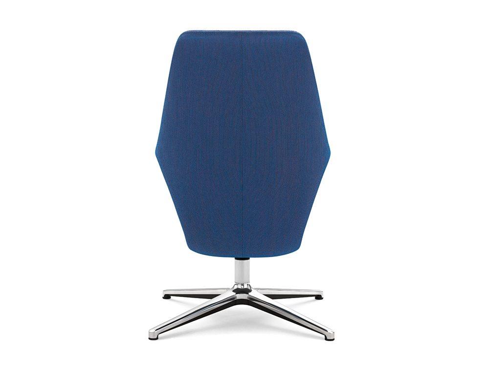 Profim Pelikan Armchair with Shelf Back Angle