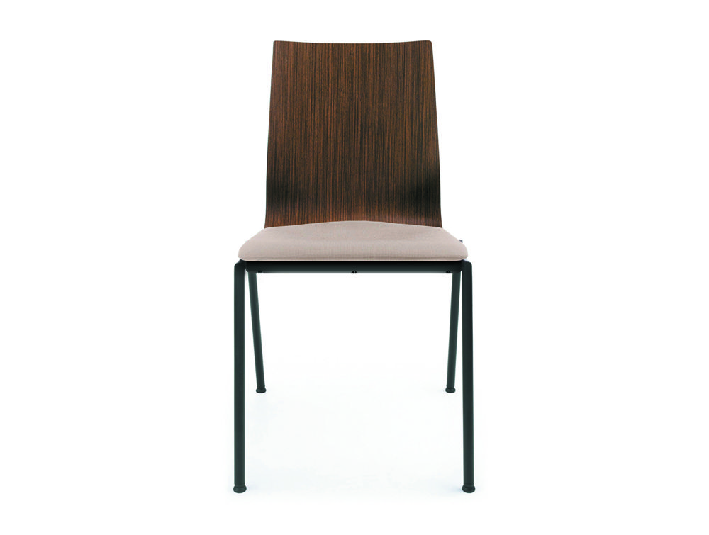 Profim Sensi Conference Chair Black Legs Front Angle
