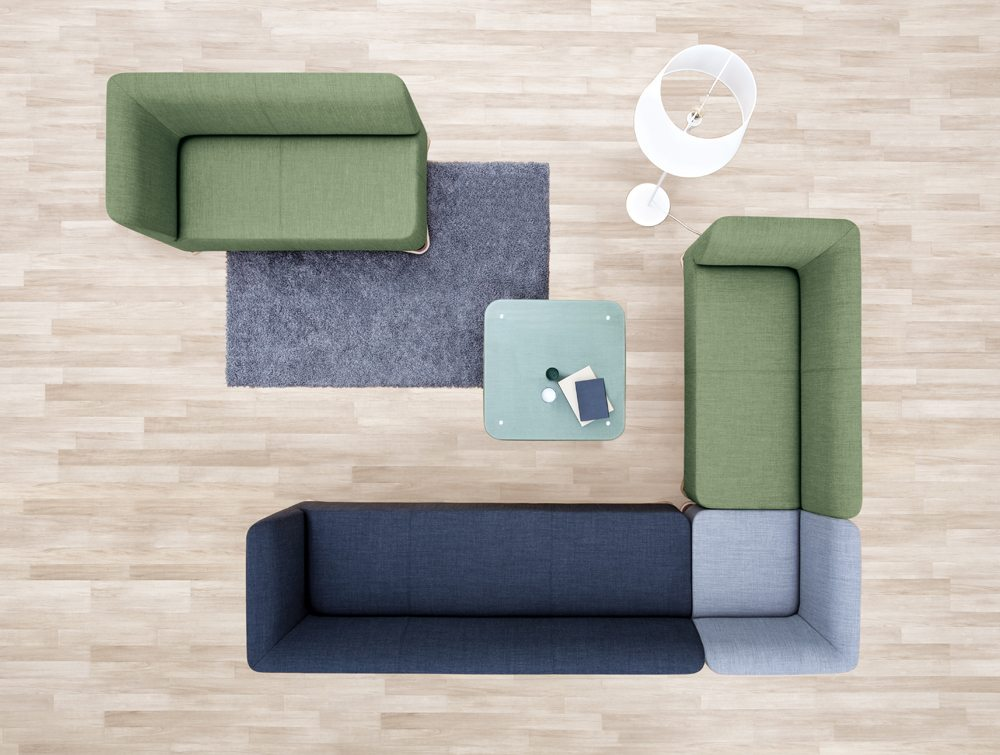 Profim SoftBox Armchairs and Sofas in an Office