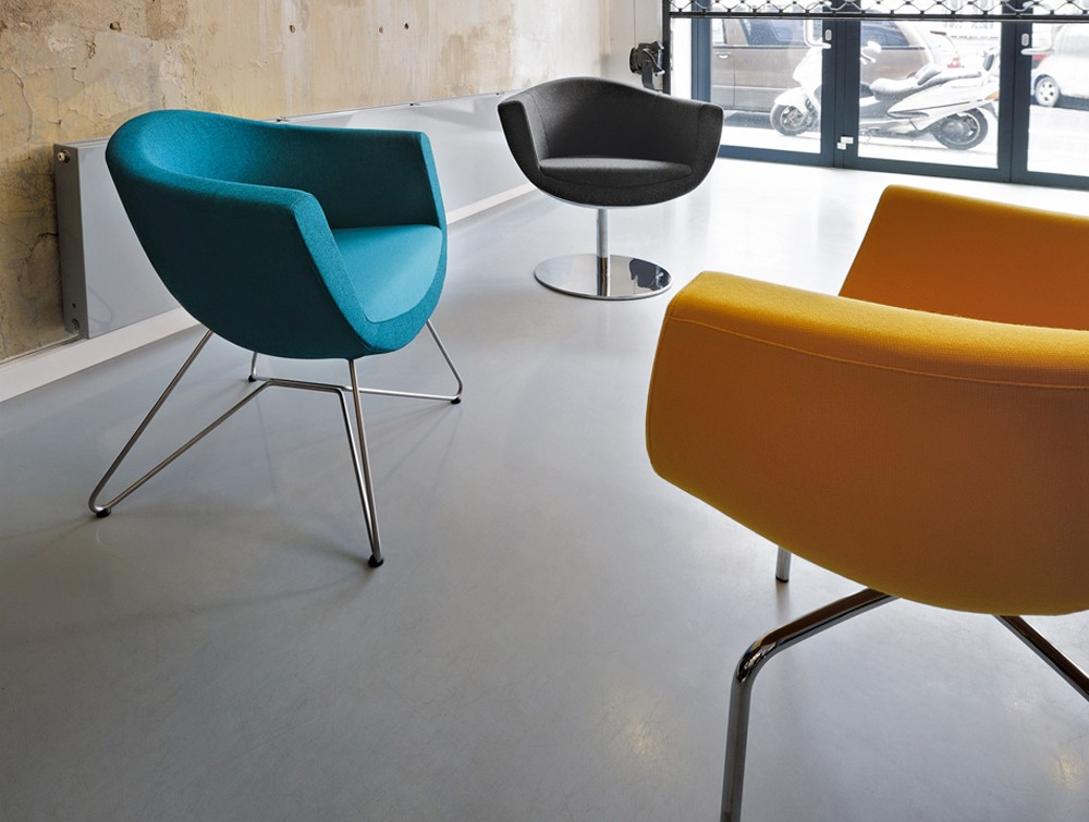Profim sorriso reception seating in 3 different colours