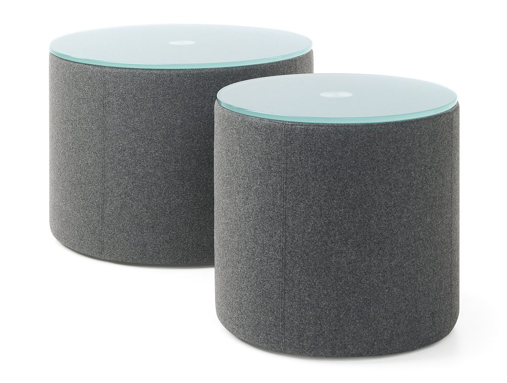 Profim Vancouver Oto Pouffe and Tables Circle