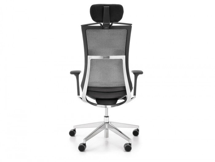 Profim Violle Ergonomic Chair with Headrest Armrest Hanger Mesh Back