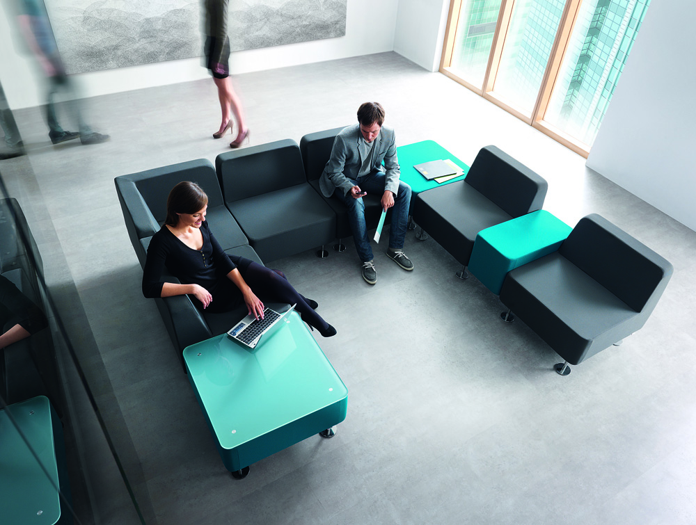Profim Wall-In Soft Office Seating 6