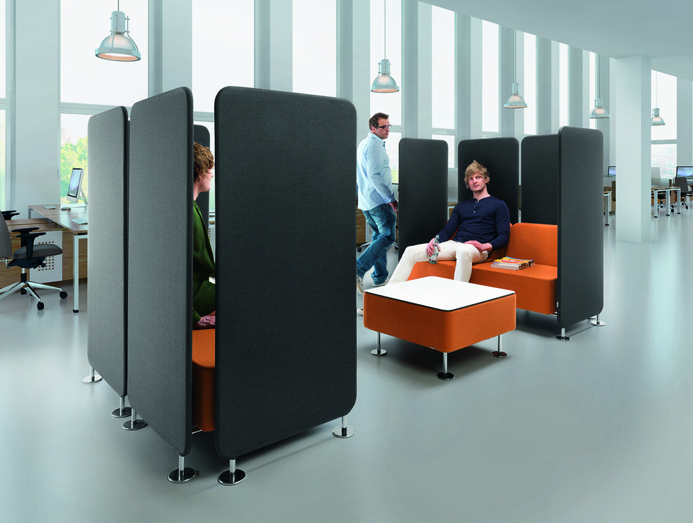 Profim Wall-In Soft Office Seating 7