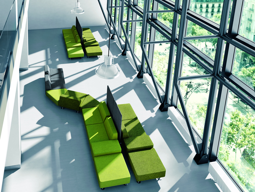 Profim Wall-In Soft Office Seating