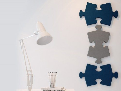 Puzzle Shaped Wall Office Acoustic Panels