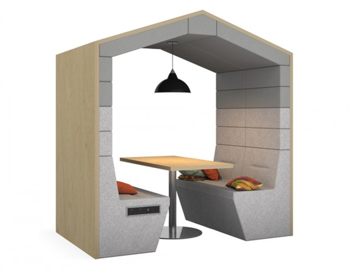 Railway-Carriage-Classic-Wooden-Framed-Acoustic-Meeting-Pod-Ribbed-Grey