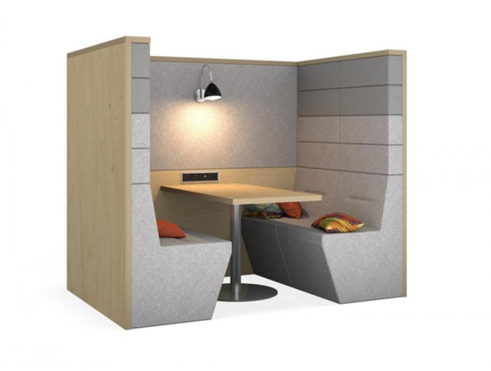 Railway-Carriage-Classix-Wooden-Framed-Acoustic-Seating-Pod-Banquette-with-Wall-Light