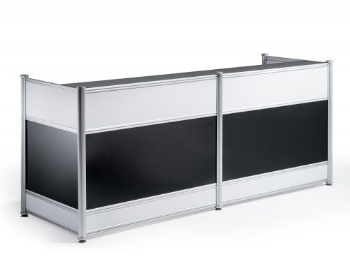 Reception desk high-gloss black featured image