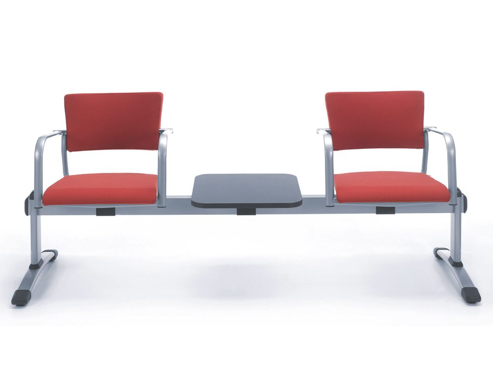 Red Visitor Seating with Table