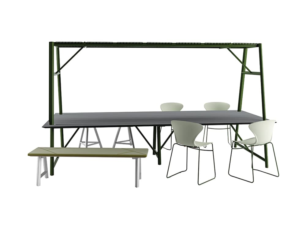 Relic Cloud Outdoor Themed Meeting Room Table
