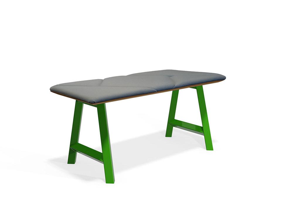 Relic hotdesking table rectangular short stool