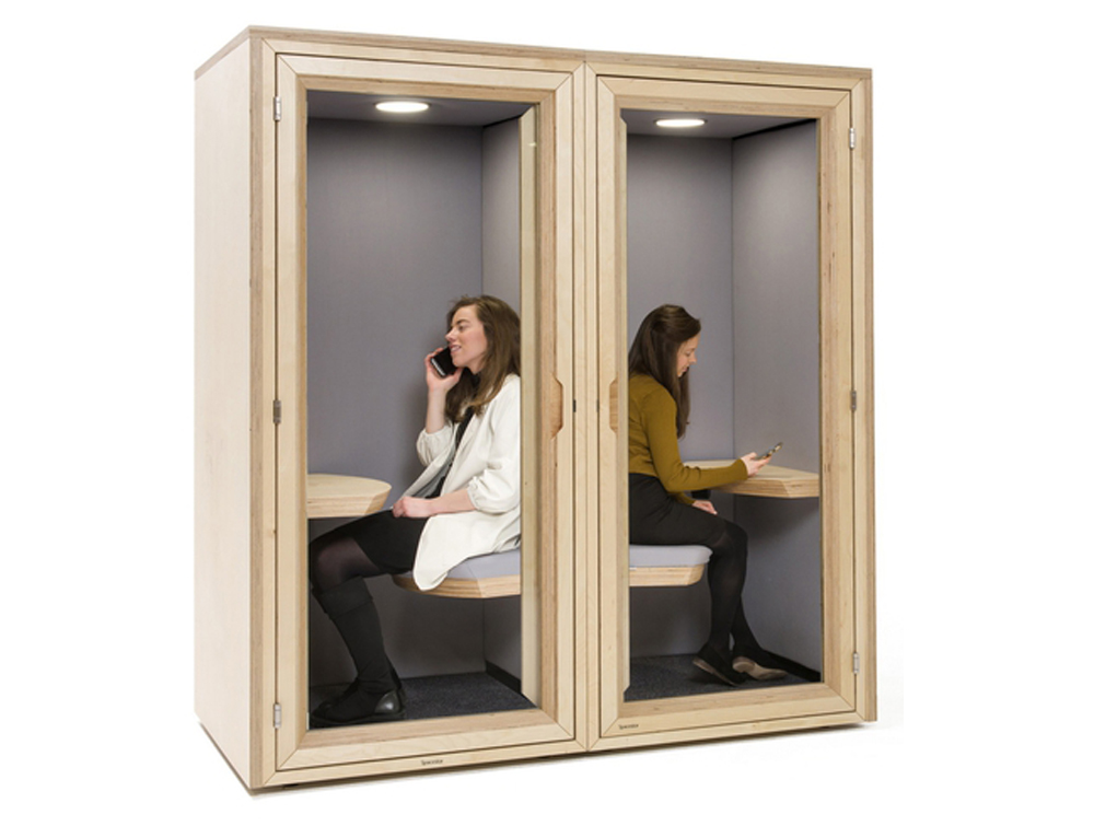 Residence-Work-Wooden-Box-Acoustic-Phone-Booth-Individual-Pod