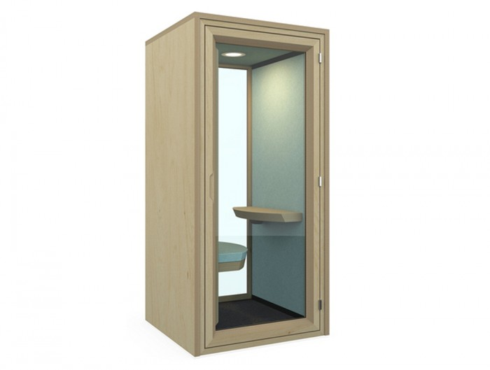 Residence-Work-Wooden-Box-Acoustic-Sitting-Workstation-wih-Spotlight-Kit