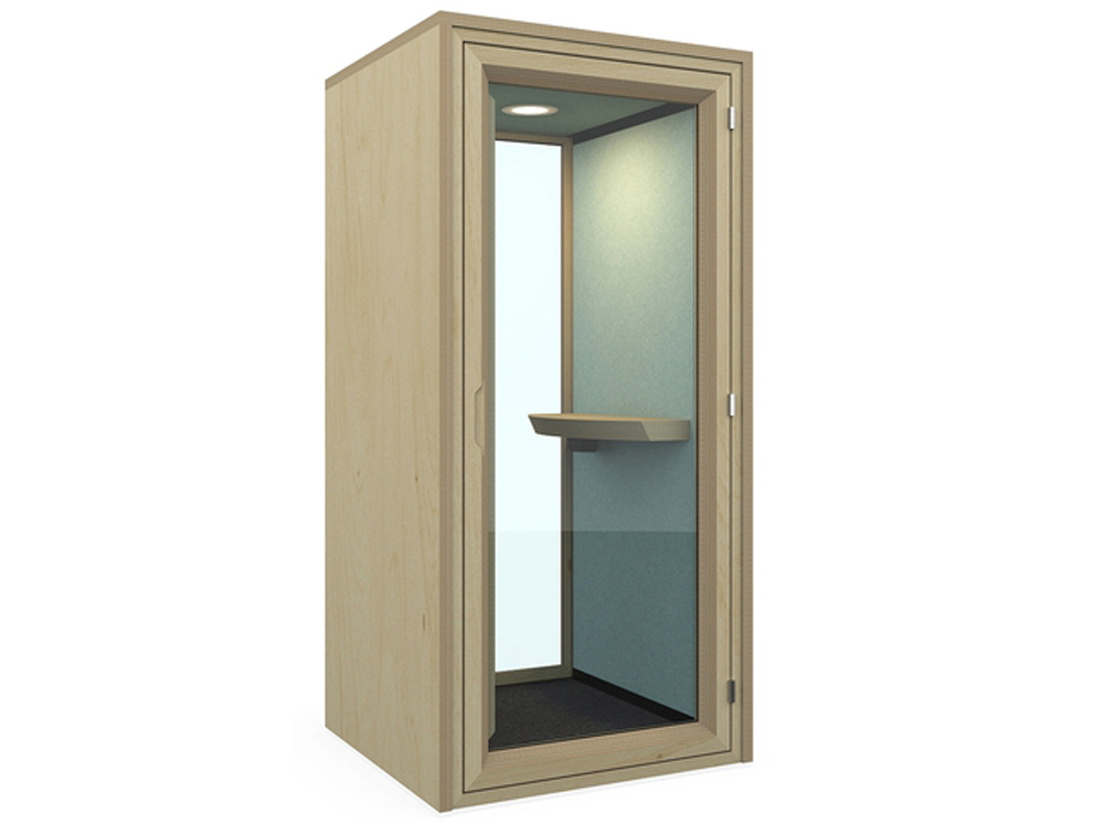 Residence-Work-Wooden-Box-Acoustic-Standing-Phone-Booth-with-Tablet