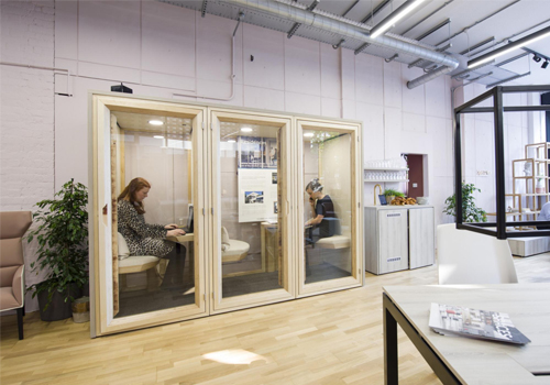 Residence-Work-Wooden-Box-Acoustic-Phone-Booth-Workstation-and-Meeting-Pod-in-Office-Reception-Area