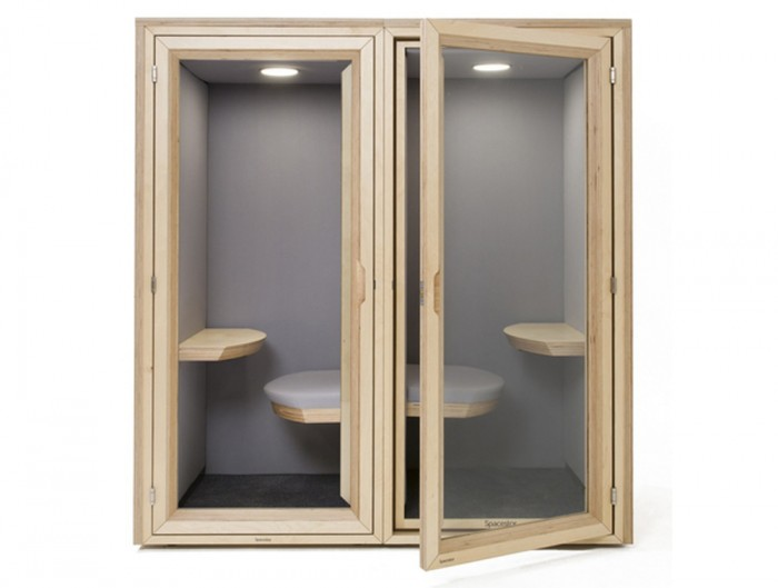Residence-Workstation-Wooden-Box-Acoustic-Phone-Booth-Sitting-Glazed-Front-Solid-Back