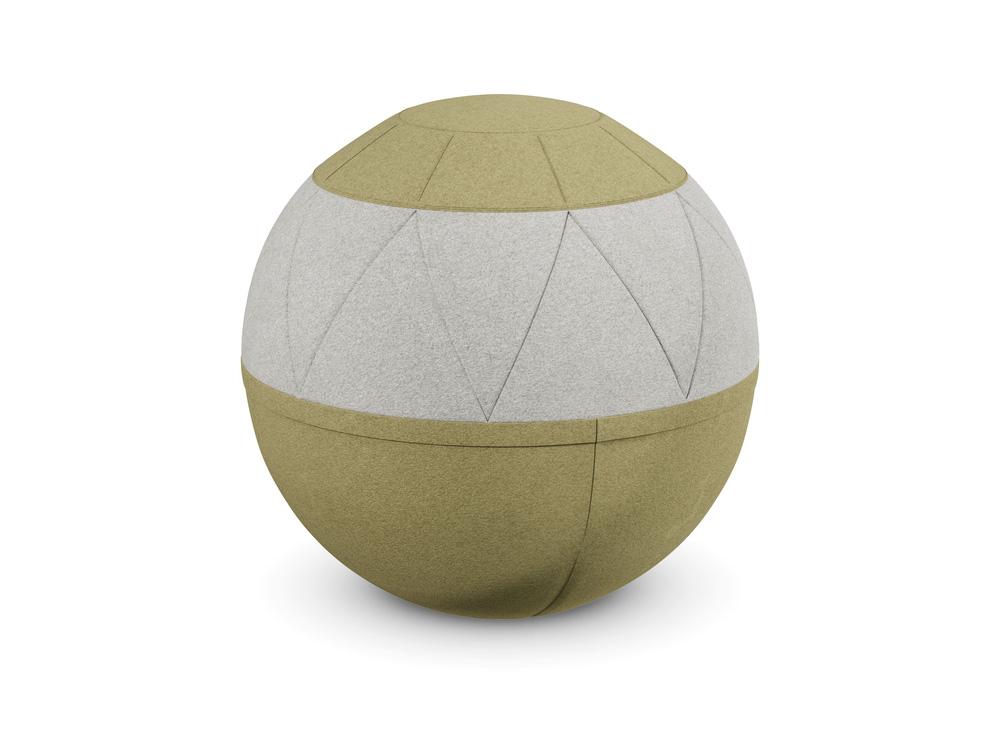Rollo Classy Pouffe Exercise Ball