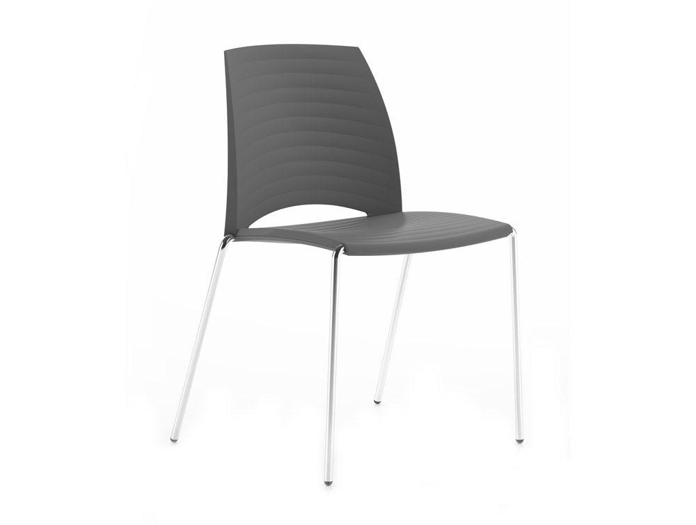 Sand 4 Legged Chair - Anthracite