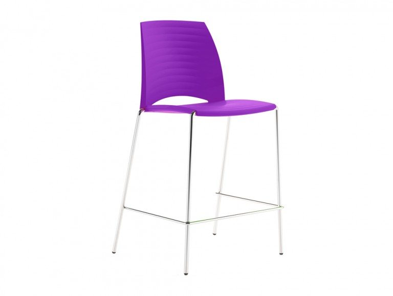 S2HSP Sand 4 Legged Stool in Purple
