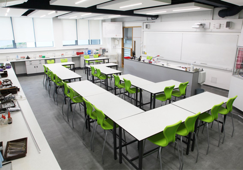 School and Education Furniture Science Laboratory with Laura High Chair Stool Secondary School Furniture