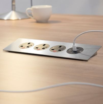 Silver Power Module with USB port