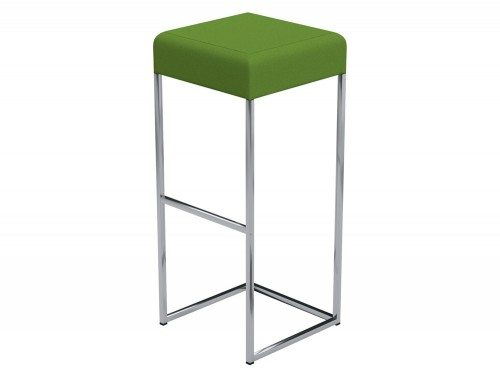 Sim Canteen Bar High Stool in E051 Green