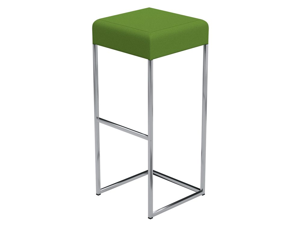 Sim Canteen Bar High Stool in E051 Green