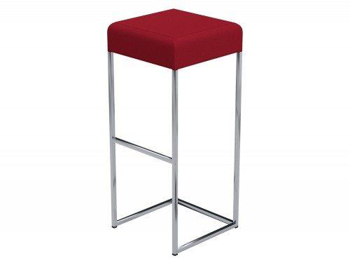 Sim Canteen Bar High Stool in E090 Red