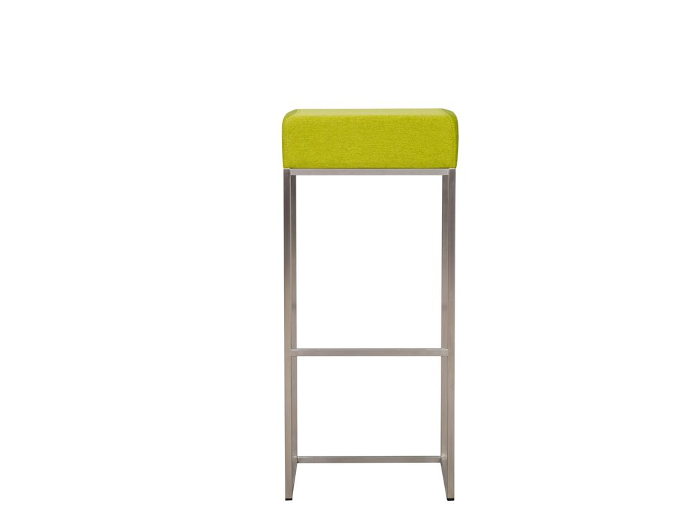 Sim Canteen Bar High Stool in Green