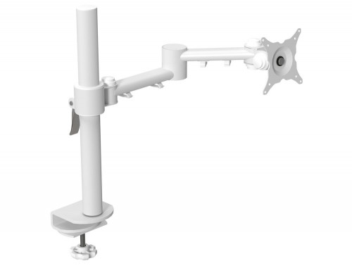 Single Monitor Arm White