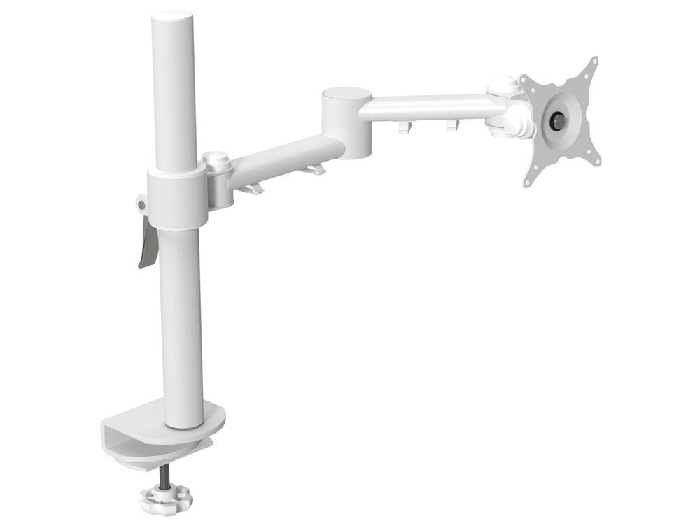 Single Monitor Arm White