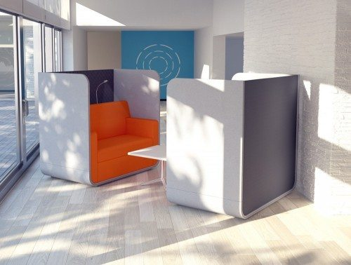 Snug Sofa Booth without Roof