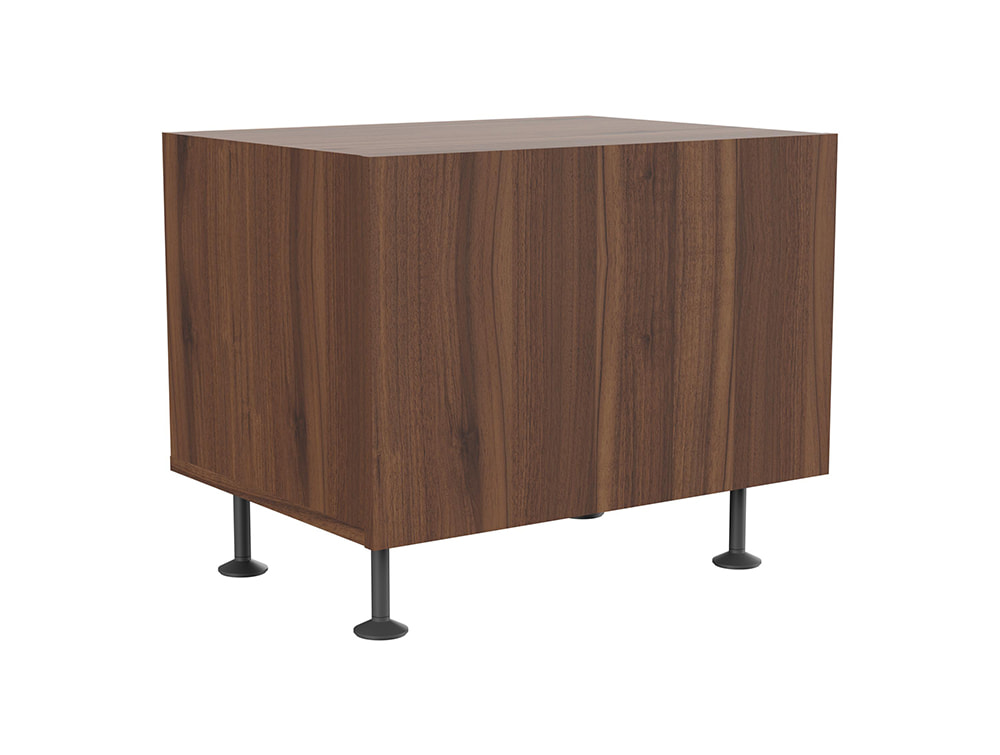 Soreno Executive Single Drawer Chest - Walnut