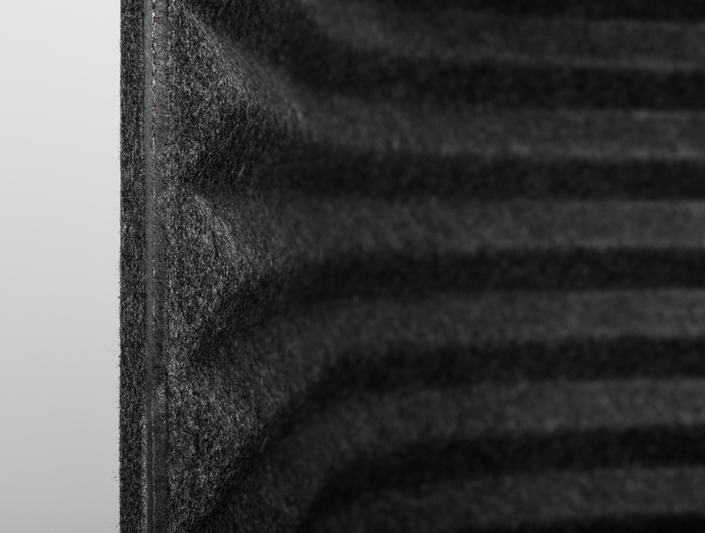 Soundroom Fabric Detail Dark Grey