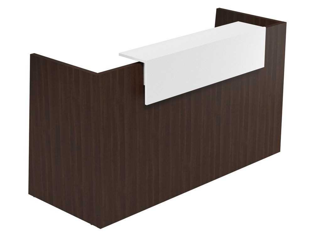 Sove Large Reception Unit - Model SV-92 DW-WH in Dark Walnut