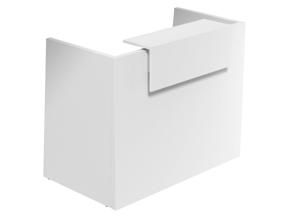 Sove Small Reception - White Finish - White Riser
