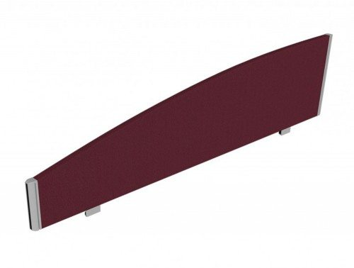 Sprint Eco Desk Mounted Curved Top