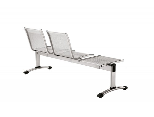 Star Modular Metal Beam Seating Chairs with Table