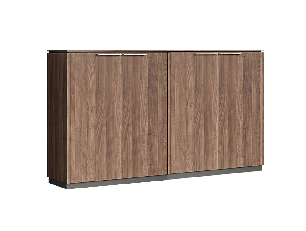 Status Executive Double 2-Door Closed Storage Cabinet