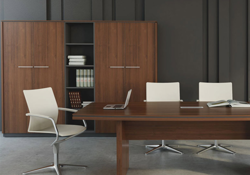 Status-Executive-Storage-Bookcases-Cupboard-in-Lowland-Finish