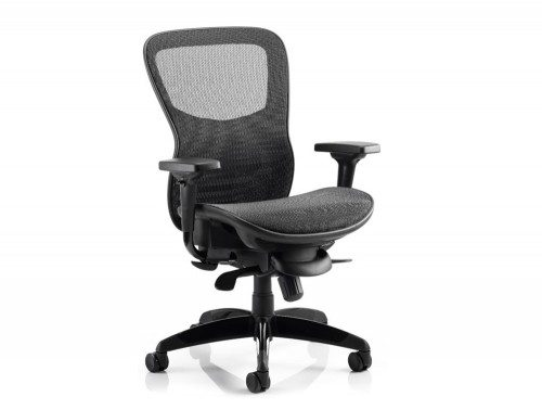 Stealth Ergo Posture Black Mesh Seat And Back Chair With Arms Featured Image